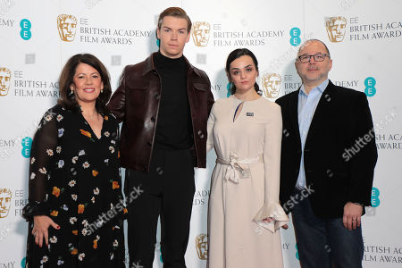 Pippa Harris, Will Poulter, Hayley Squires and Marc Samuelson