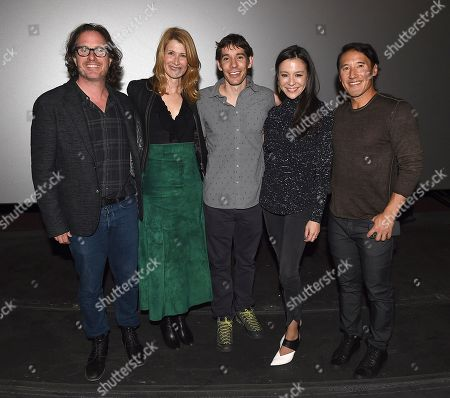 Editorial picture of 'Free Solo' National Geographic screening, Los Angeles, USA - 08 Jan 2019