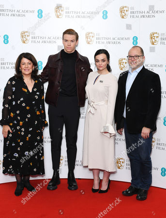 Pippa Harris, Will Poulter, Hayley Squires, Marc Samuelson