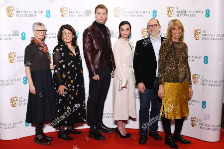 Alison Thompson, Pippa Harris, Will Poulter, Hayley Squires, Marc Samuelson, Jane Lush