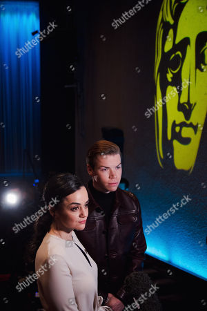 Hayley Squires and Will Poulter