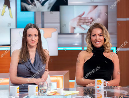 Stock Photo of Kate Smurthwaite and Aisleyne Horgan-Wallace