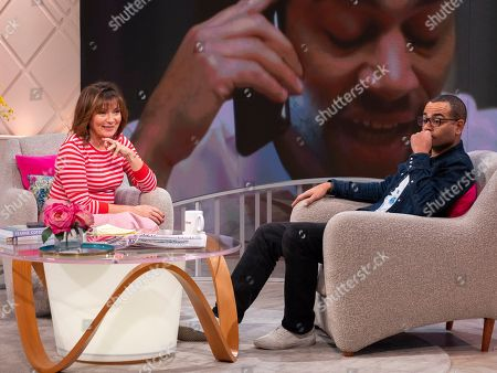 Lorraine Kelly and Ben Bailey Smith