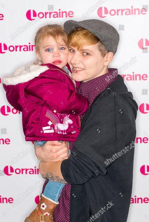 Hayden Cross and daughter Trinity-Leigh