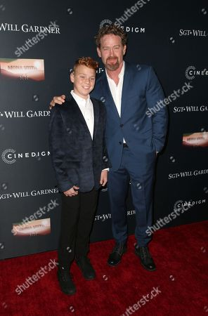 Editorial picture of 'Sgt Will Gardner' film premiere, Los Angeles, USA - 08 Jan 2019