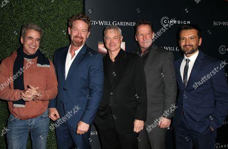 Dermot Mulroney, Max Martini, Gary Sinise, DB Sweeney, Luis Bordonada