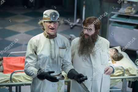 Neil Patrick Harris as Count Olaf and Louis Hynes as Klaus Baudelaire