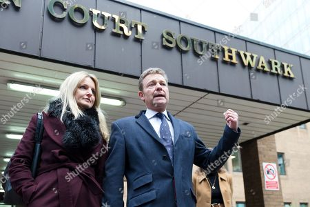 Editorial picture of Craig Mackinlay court case, Southwark Crown Court, London, UK - 09 Jan 2019