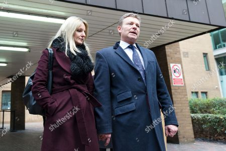 Editorial photo of Craig Mackinlay court case, Southwark Crown Court, London, UK - 09 Jan 2019