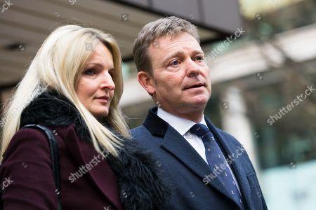 Editorial image of Craig Mackinlay court case, Southwark Crown Court, London, UK - 09 Jan 2019