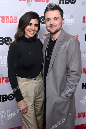 Stock Picture of Jamie-Lynn Sigler and Robert Iler