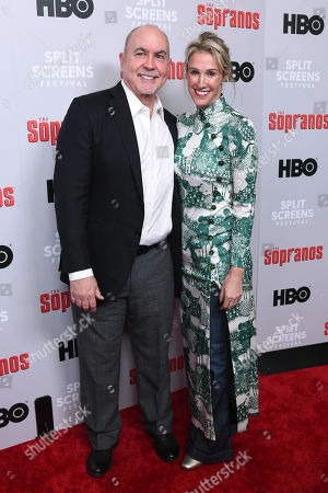 Terence Winter and guest