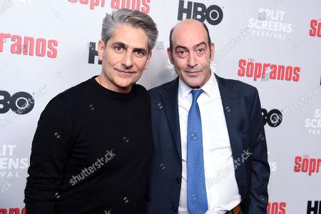 Stock Image of Michael Imperioli and John Ventimiglia