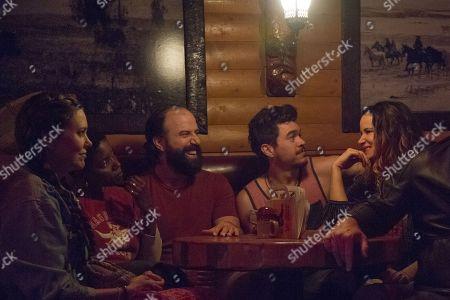 Ione Skye as Carleen, Janicza Bravo as Nina-Joy, Brett Gelman as George, Arturo del Puerto as Miguel and Juliette Lewis as Jandice