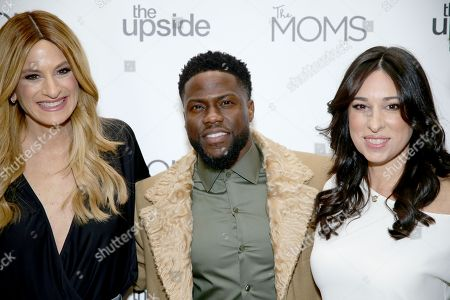 Stock Picture of Denise Albert, Kevin Hart and Melissa Musen Gerstein