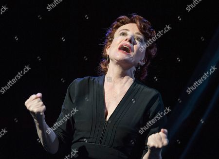 Editorial image of 'Songs for Nobodies' performed by Bernadette Robinson at the Ambassadors Theatre, London, UK, 09 Jan 2019