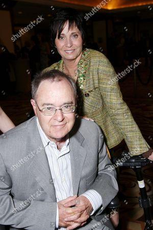 Stock Image of Kathy Fields and husband David Lander