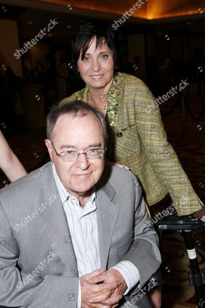 Stock Photo of Kathy Fields and husband David Lander