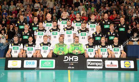 Editorial image of German National Handball Team, Berlin, Germany - 08 Jan 2019