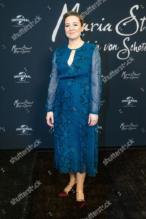 Josie Rourke poses during a photocall of the movie 'Mary Queen of Scots' in Berlin, Germany, 09 January 2019. The movie will be open to the public on 17 January.