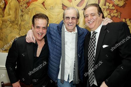 Stock Picture of Frank Vallelonga, Danny Aiello, Nick Vallelonga Screenwriter, Producer)