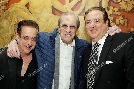 Stock Photo of Frank Vallelonga, Danny Aiello, Nick Vallelonga Screenwriter, Producer)