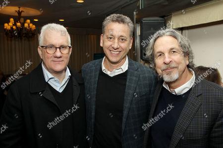 David Linde (CEO Participant Media), John Sloss (Exec. Producer), Peter Farrelly (Director)