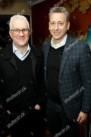 David Linde (CEO Participant Media), John Sloss (Exec. Producer)