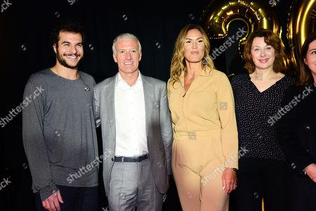 Amir, Didier Deschamps, Vitaa