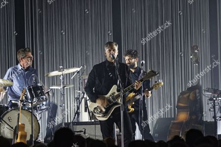 Editorial photo of Calexico in concert at Elysee Montmartre, Paris, France - 27 Mar 2018