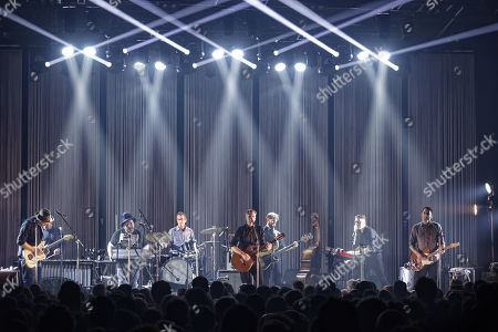 Editorial picture of Calexico in concert at Elysee Montmartre, Paris, France - 27 Mar 2018