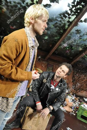 'Kurt and Sid' - Shaun Evans (Kurt  Cobain) and Danny Dyer (Sid Vicious)