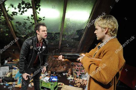 'Kurt and Sid' - Danny Dyer (Sid Vicious) and Shaun Evans (Kurt  Cobain)