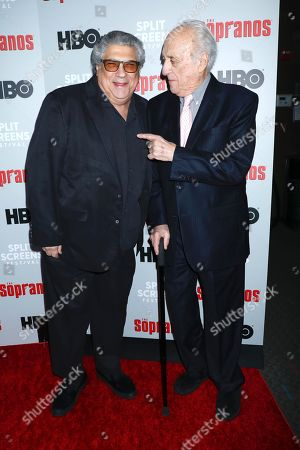 Vincent Pastore and Jerry Adler
