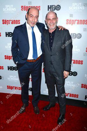 Stock Photo of John Ventimiglia and Matthew Weiner