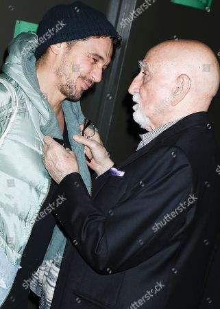 James Franco and Dominic Chianese