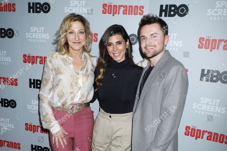 Edie Falco, Jamie-Lynn Sigler and Robert Iler
