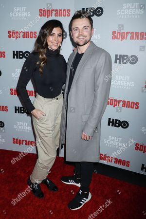 Jamie-Lynn Sigler and Robert Iler