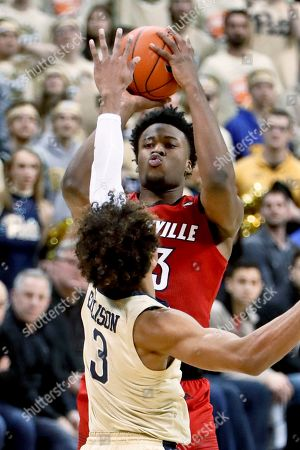 Editorial picture of Louisville Basketball, Pittsburgh, USA - 09 Jan 2019