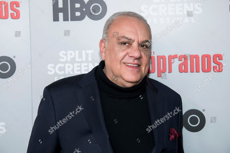 """Stock Photo of Vincent Curatola attends HBO's """"The Sopranos"""" 20th anniversary at the SVA Theatre, in New York"""