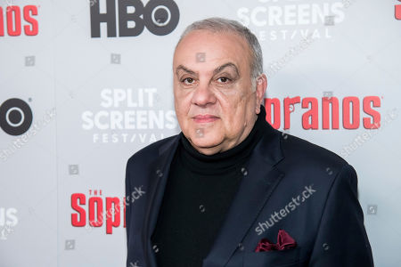 """Vincent Curatola attends HBO's """"The Sopranos"""" 20th anniversary at the SVA Theatre, in New York"""