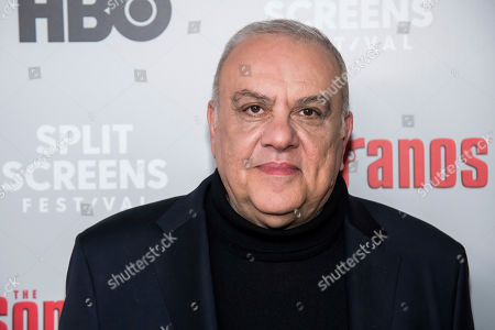 """Stock Image of Vincent Curatola attends HBO's """"The Sopranos"""" 20th anniversary at the SVA Theatre, in New York"""