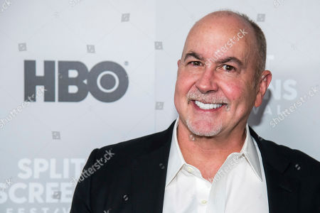 "Terence Winter attends HBO's ""The Sopranos"" 20th anniversary at the SVA Theatre, in New York"