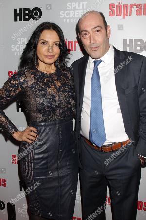 Kathrine Narducci and John Ventimiglia