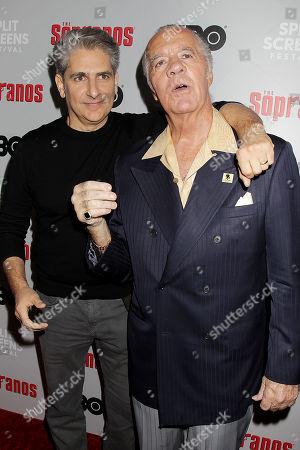 Michael Imperioli and Tony Sirico