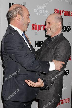 John Ventimiglia and Matthew Weiner