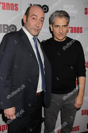 John Ventimiglia and Michael Imperioli