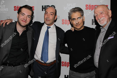 Michael Gandolfini, John Ventimiglia, Michael Imperioli, Dominic Chianese