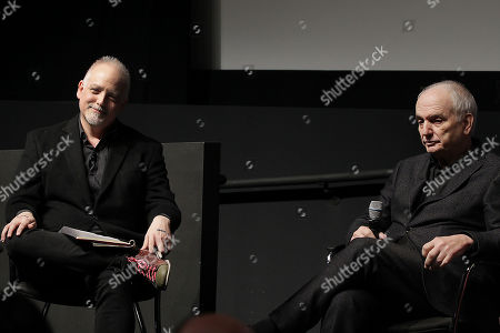 Matt Zoller Seitz and David Chase