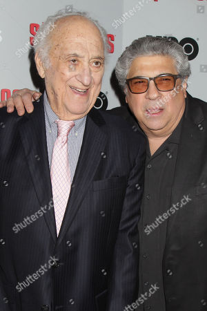 Jerry Adler and Vincent Pastore